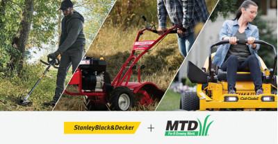 Компания Stanley Black&Decker приняла решение о приобретении оставшейся доли (80%) акций MTD Holdings Inc.